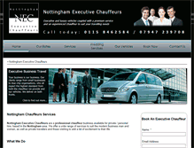 Tablet Preview of nottinghamexecutivechauffeurs.co.uk